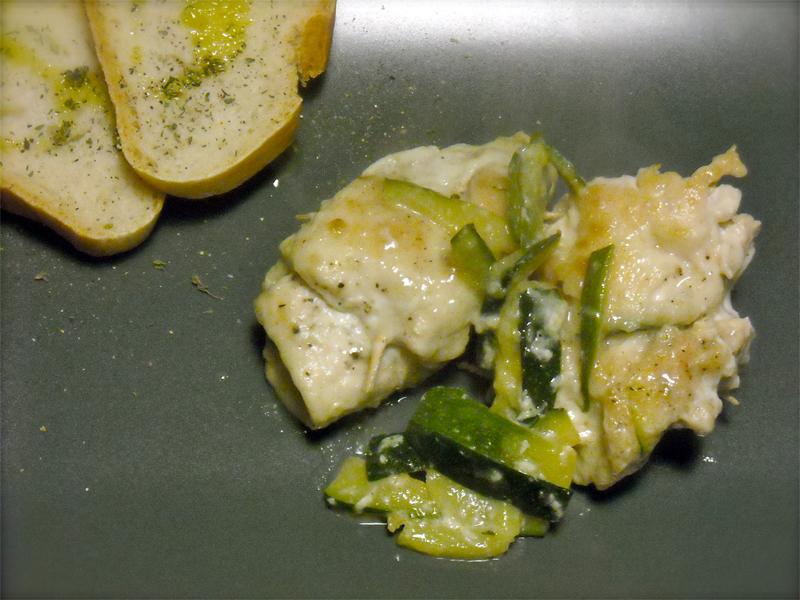 Involtini di pollo con crudo di Parma e zucchine