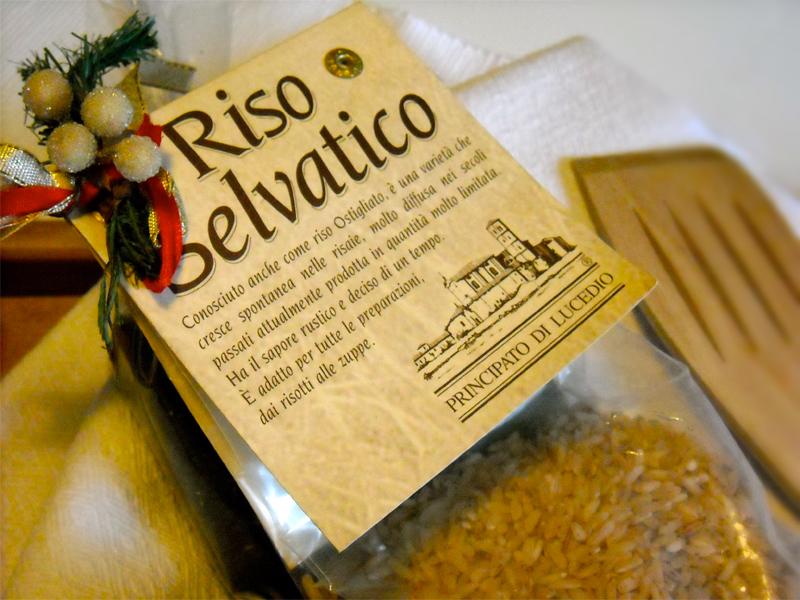 riso selvatico Principato di Lucedio