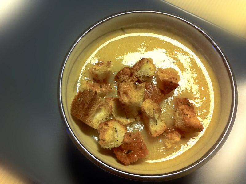 Crema vellutata di finocchi e patate