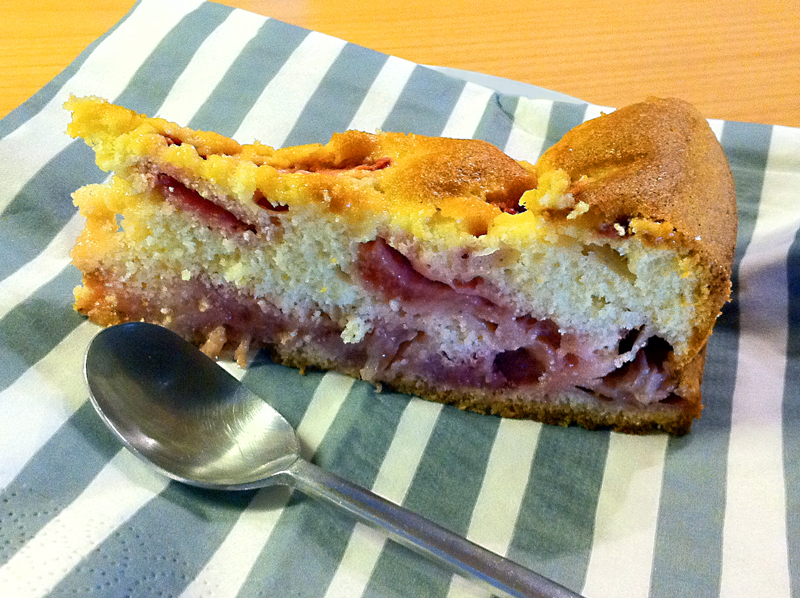 Torta soffice alle fragole e yogurt