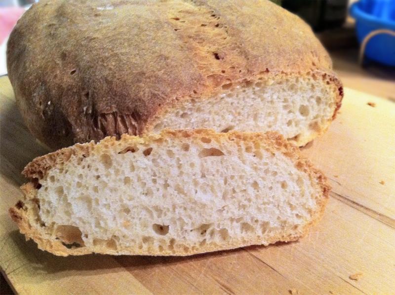 pane lievitazione naturale con pasta madre