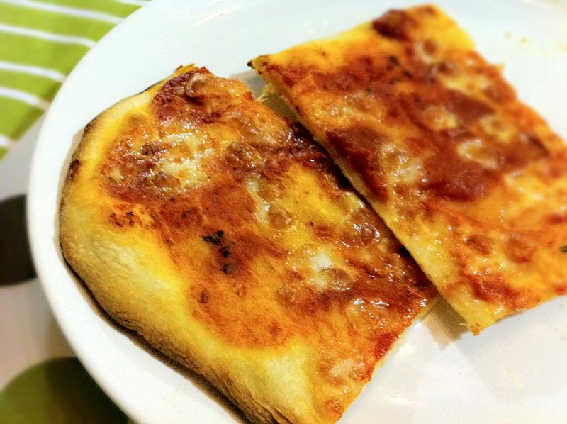Pizza margherita lievito madre